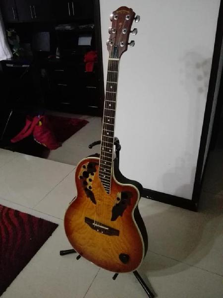 Guitarra electroacústica palmer ovation gdb660