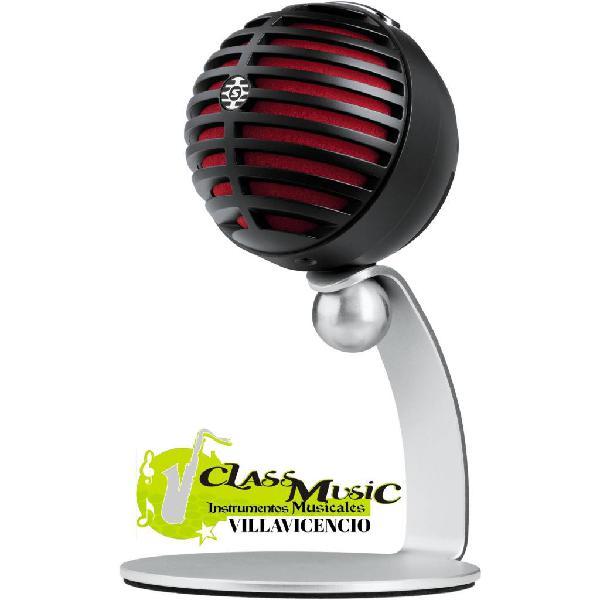 Microfono shure alambrico mv5 nuevo