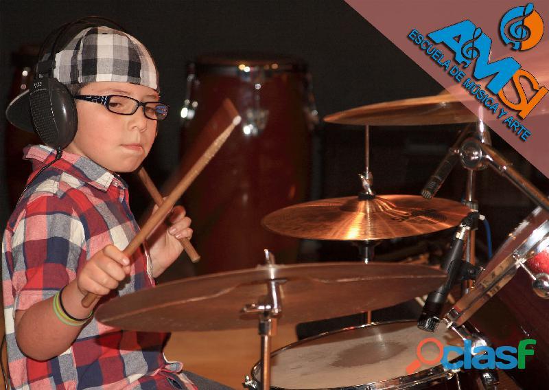 Clases de batería y percusión para jóvenes normandia y cercanos
