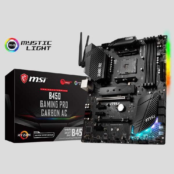 Board AMD MSI B450 Gaming Pro Carbon WiFi