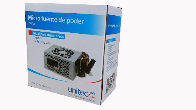 Micro fuente de poder unitec