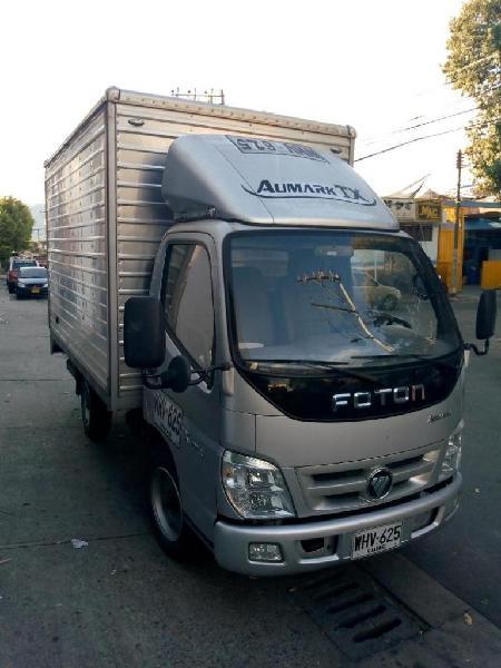 Camión foton aumark tx 4011 furgón 2.8 toneladas
