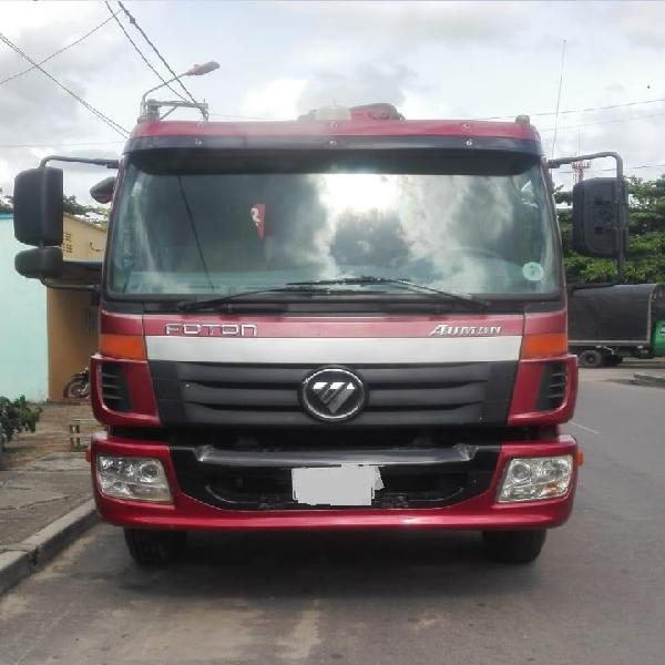 Camión grua foton auman 2015