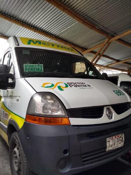 Renault master mod 2013 expreso palmira 15 pasajeros ruta