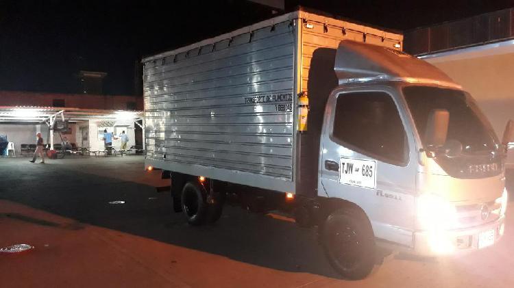 Vendo camion tipo furgon marca foton 201