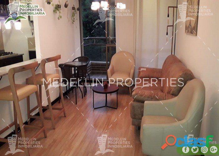 Apartamentos amoblados economicos en el poblado cod: 5077