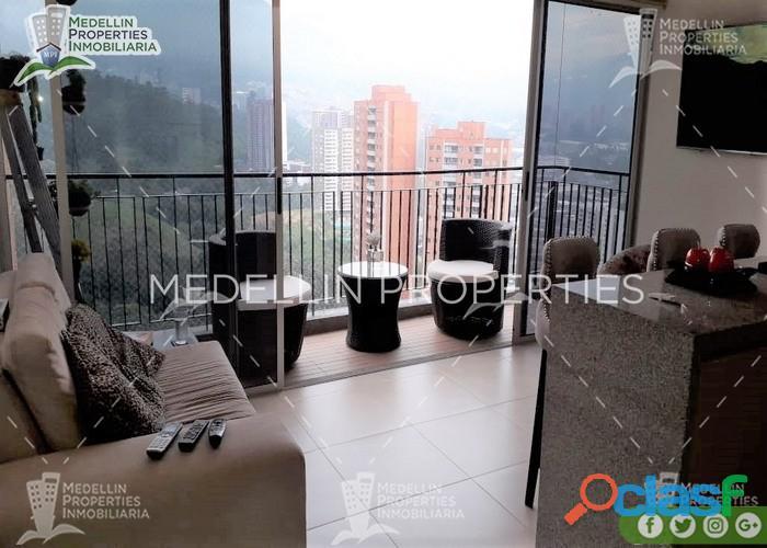 Apartamentos amoblados economicos en sabaneta cod: 5083