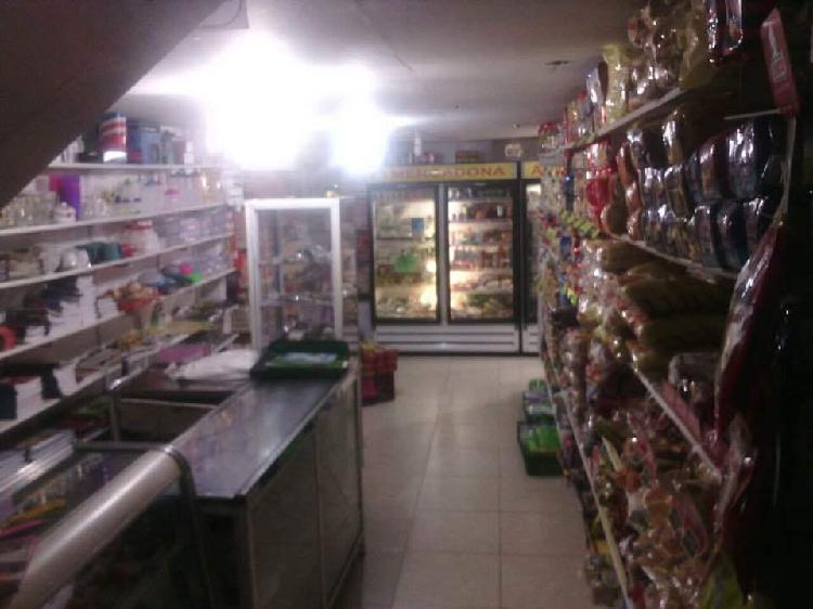 Supermercado acreditado en venta, local, todo el inventario,