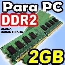 Memoria ram ddr2 de 2gb para pc de mesa