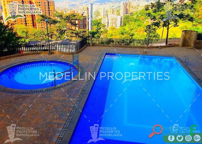 Apartamentos amoblados en alquiler medellín cód: 4888