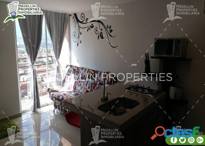 Apartamentos amoblados para alquiler por días y meses medellin cod: 5069