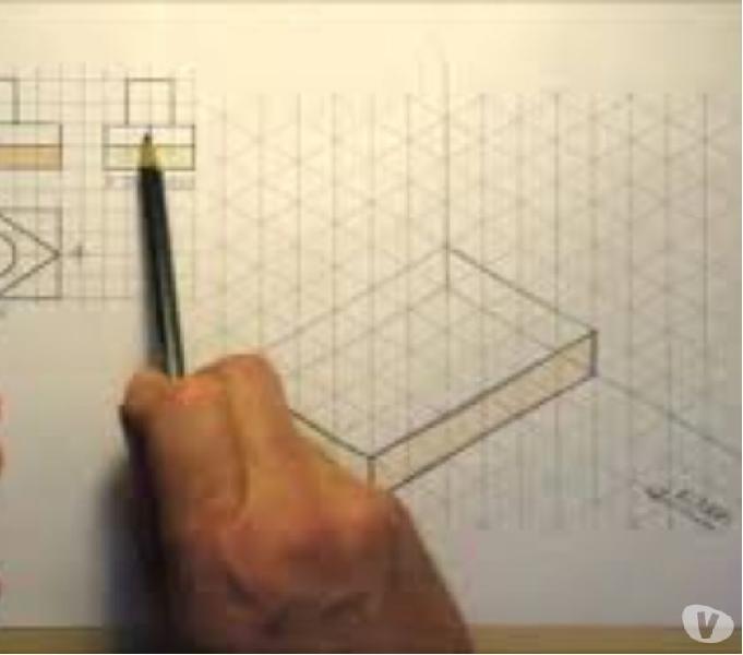 Curso de dibujo tecnico alumnos de colegios industriales