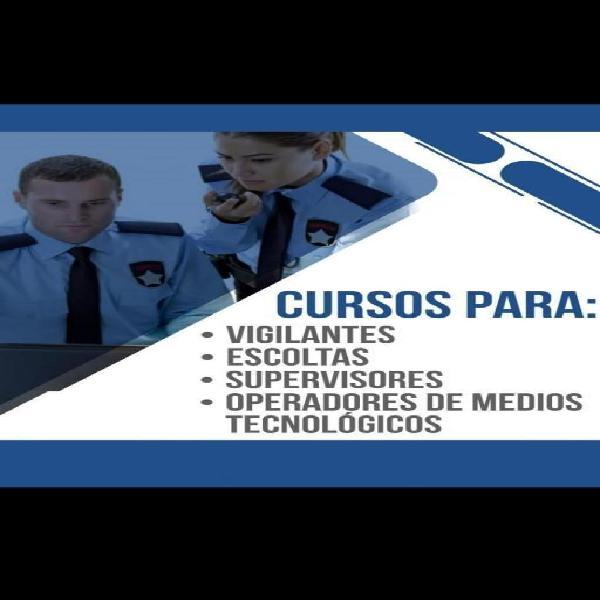 Cursos d vigilancia, contratación labor