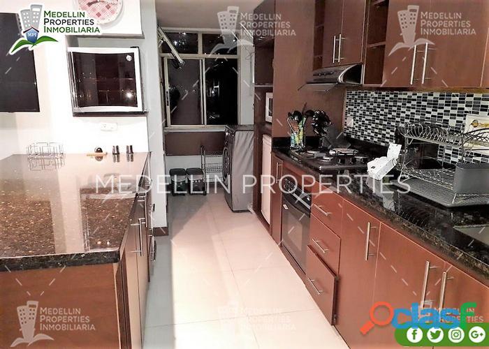 Apartamentos amoblados economicos en el poblado cod: 5017
