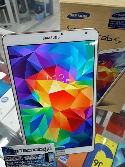 Samsung galaxy tab s como nueva cover