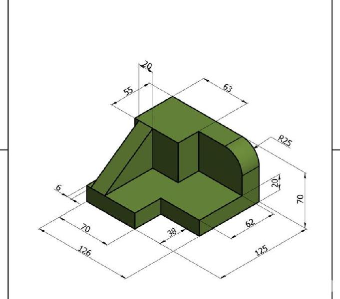 Curso de dibujo tecnico especializado en proyecciones...