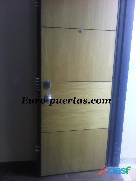 Puertas de seguridad blindadas, euro puertas,