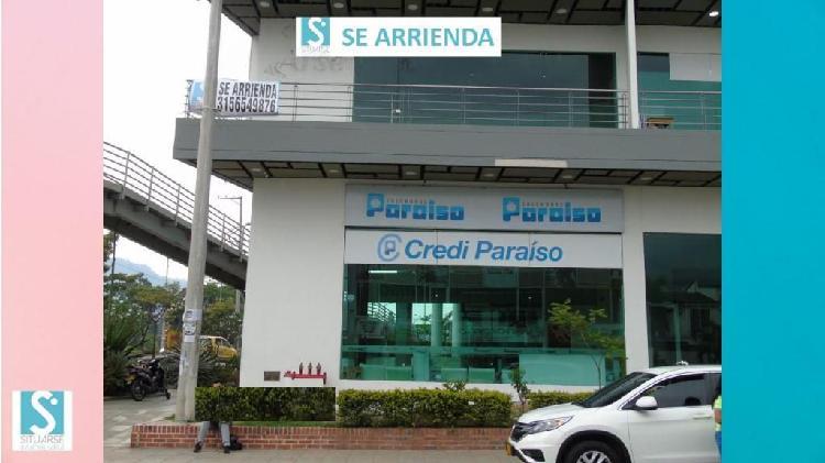 Arriendo local piedecuesta sector pinares centro empresarial