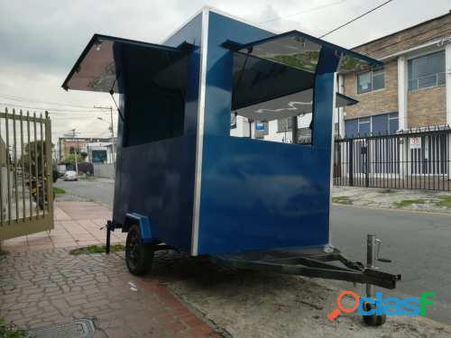 Fábrica Y Alquiler Remolques Foodtrucks En Bogotá