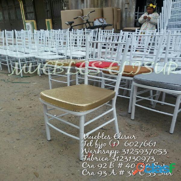 Muebles elisur sillas tiffany ventas 3125937053