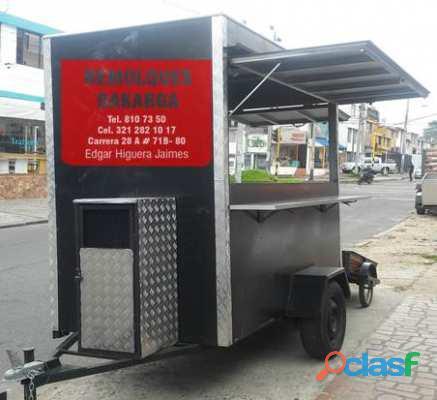 Remolques de comidas en Bogota