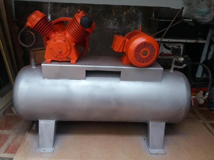 Vendo compresor industrial de 12 hp trifasico
