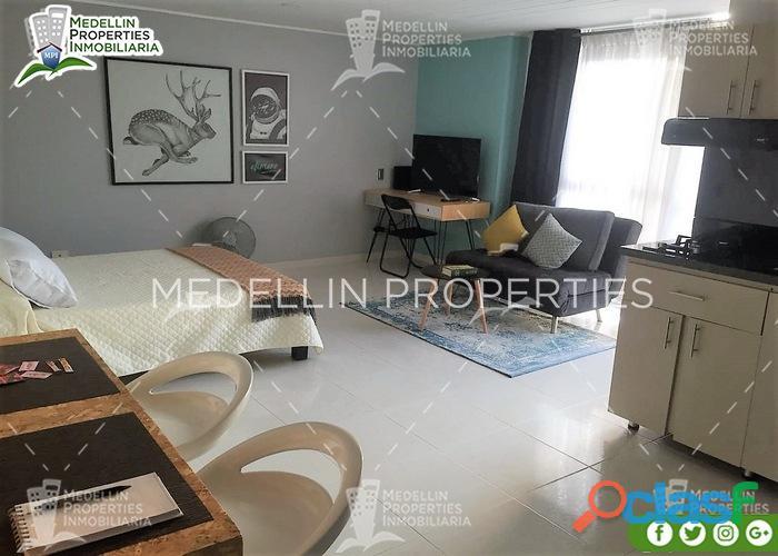 Apartamentos amoblados economicos en medellin cód: 4884
