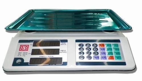 Balanza digital 40 kg calcula peso y precio articulo nuevo