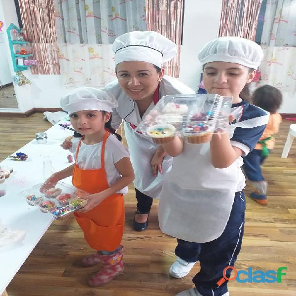 Clases de reposteria para niños y adultos en manizales a domicilio