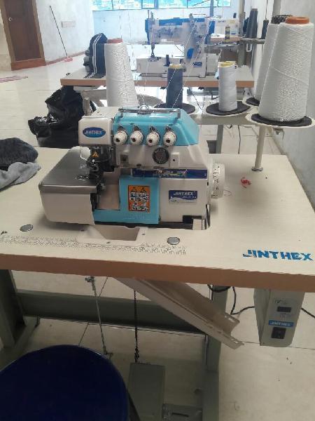 Tres maquinas de coser jinthex