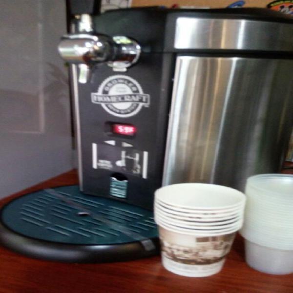 Cafe nitrogenado maquinas de cafe