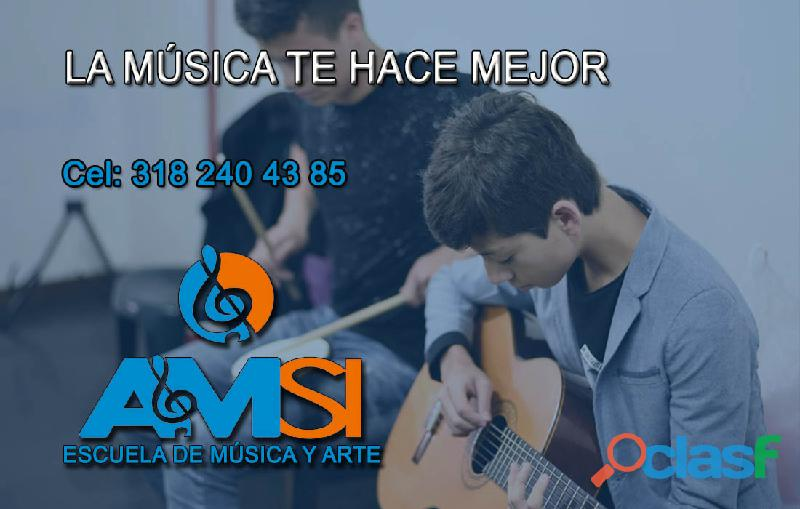 Aprende a tocar Guitarra Eléctrica y Acústica