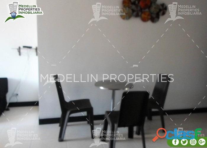 Arriendo de Apartamentos Amoblados por Meses en Medellín Cód: 4610