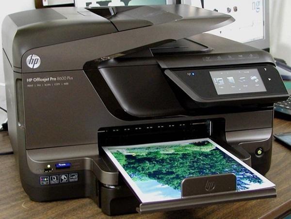 Impresora multifuncional hp officejet 8600 plus con sistema