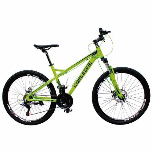 Bicicleta aluminio shimano 21 vel. rin 26 todo terreno + obs