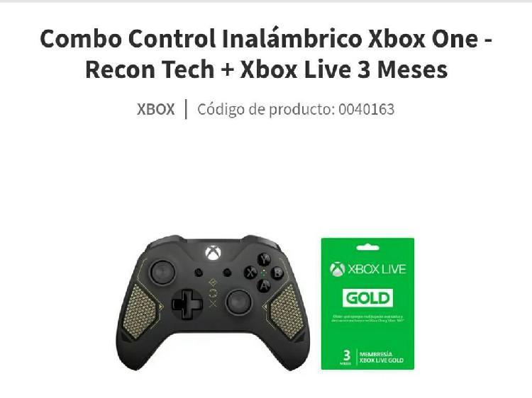 Control inalambrico xbox one xbox live