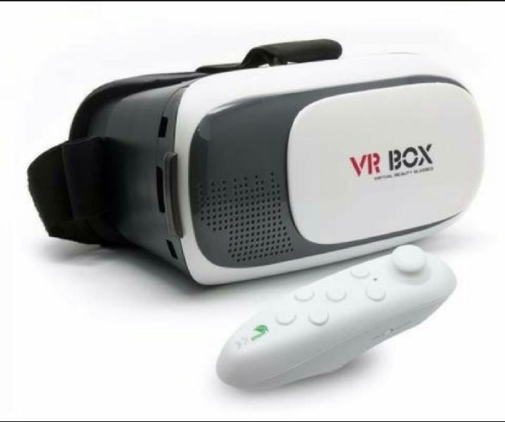 Gafas 3d vr box realidad virtual control bluetooth