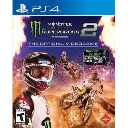 Monster energy supercross 2 ps4 fisico
