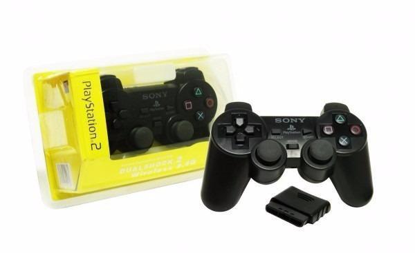 Control inalambrico para play 2 de bateria recargable