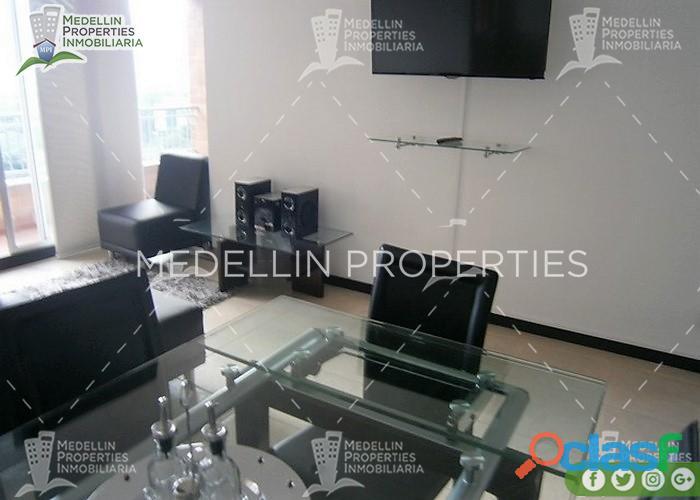 Apartamentos amoblados en alquiler medellín cód: 4550