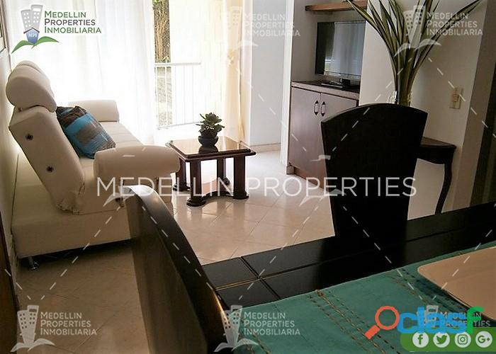 Apartamentos amoblados en alquiler medellín cód: 4551