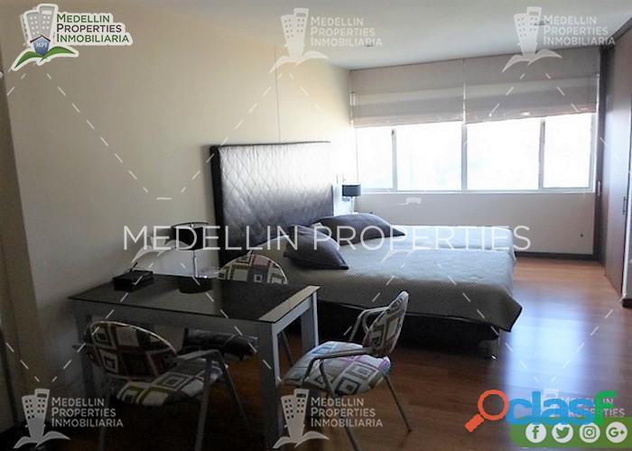 Apartamentos amoblados en alquiler medellín cód: 4555