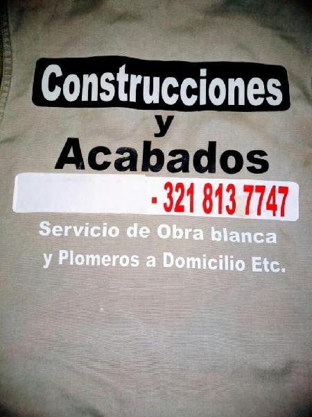 Construcciones y acabados