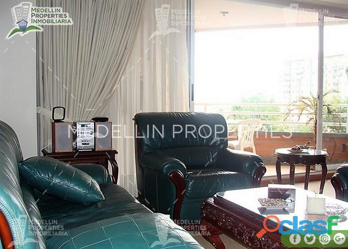 Apartamentos amoblados en alquiler medellín cód: 4186