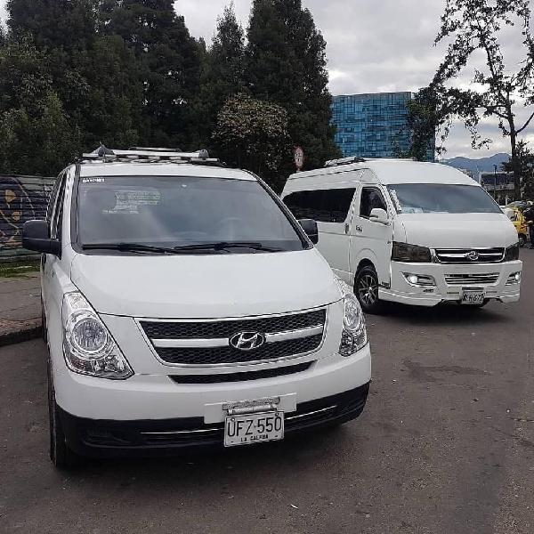 Alquiler de transporte con conductor