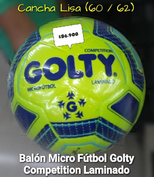 Balon golty micro futbol pro cancha lisa 60 62