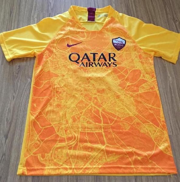 Camiseta roma naranja suplente 2018 2019