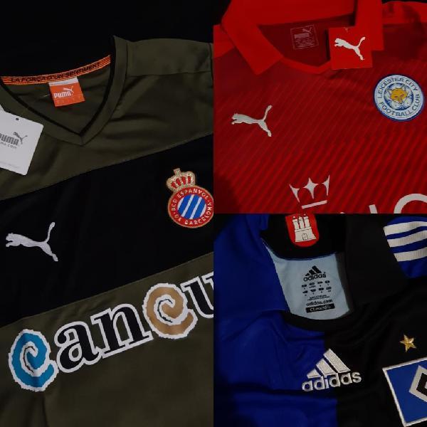 Camisetas equipos europeos