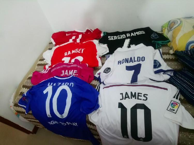 Camisetas de fútbol colección