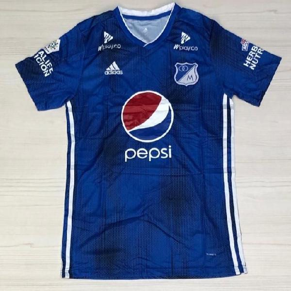 Nueva camiseta millonarios f.c. titular 2019
